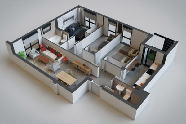 Residencial en Madrid